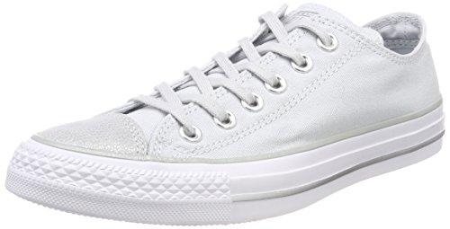 Converse 559888C Damen Ctas Ox Fitnessschuhe, Silber (Pure Platinum/Silver/White 082), 39.5 EU