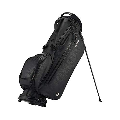 Vessel Lite Stand Golf Bag (Black Camo)