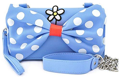 Loungefly x Disney positiv Minnie Polka Dot Cross Body Wristlet Tasche