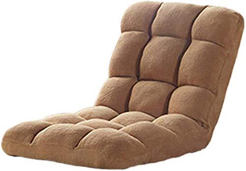 Lazy Sofa Kussen Single kleine bank Klapstoel Bed Chair Erker Fauteuil Balkon Leisure Lounge Chair (Kleur: Big Red) 8bayfa