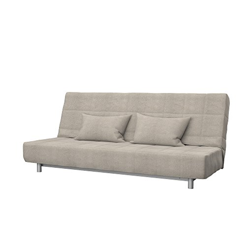 Soferia - Ikea BEDDINGE Fodera per Divano Letto a 3 posti, Glam Taupe
