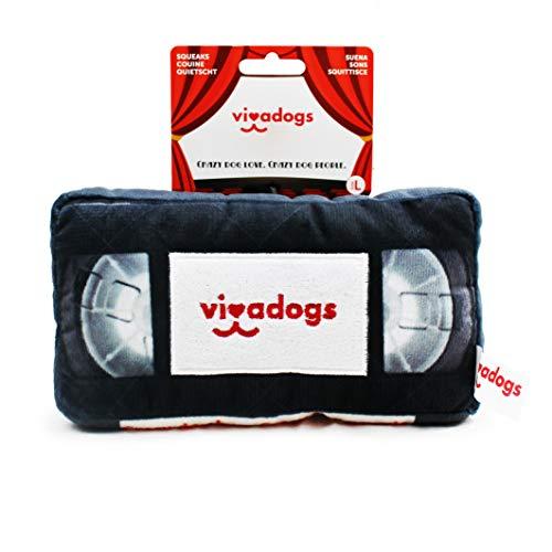 Vivadogs - Videotape - Juguetes para Perros - Juguetes para Perros Cachorros...