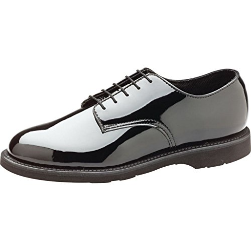 Thorogood Women's 531-6303 Uniform Classics - Poromeric Oxford Shoe, Black - 7.5 W US