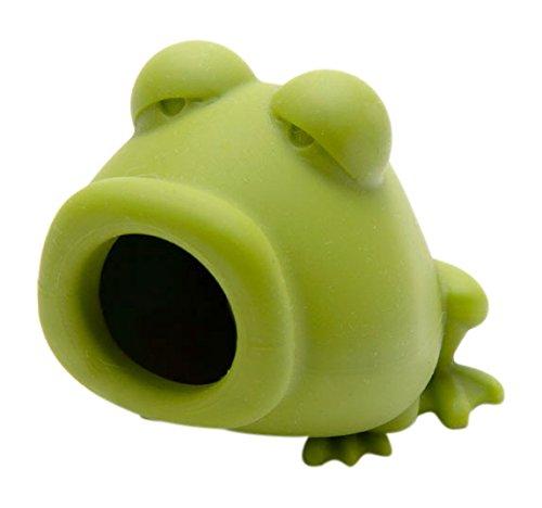 PELEG DESIGN Eiertrenner Yolk-Frog | Grüner Frosch aus Silikon zum Eigelb trennen | Egg Yolk Separator | 5,5 x 5,5 x 7 cm