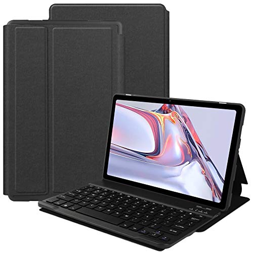 VOVIPO F&a Teclado Español Ñ para Galaxy Tab A7 10.4 2020 Inch, Protectora Cover F&a Con Desmontable Wireless Teclado Galaxy Tab A7 10.4 2020 (SM-T500/T507)