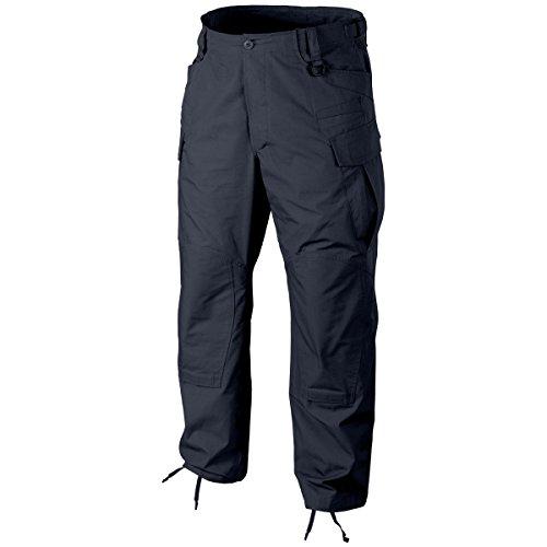 HELIKON SFU NEXT Uomo Pantaloni PolyCotton Ripstop Blu marina taglie XL Reg