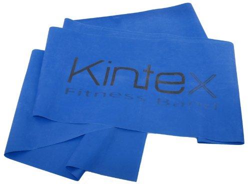 Kintex Gymnastikband Latexband 2.5m x 15cm Fitnessband, Blau (extra stark)