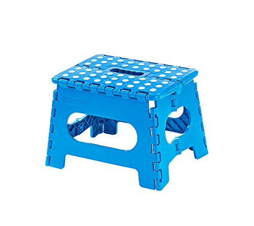 Living Quarters Folding Step Stool Blue