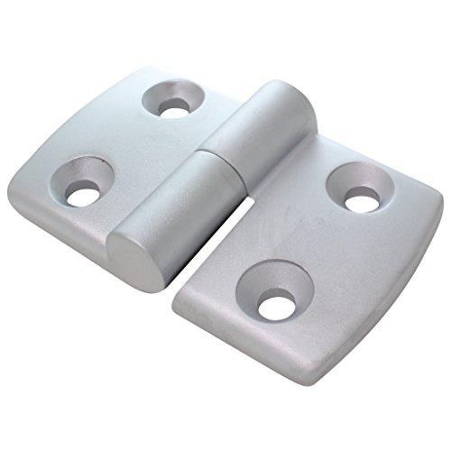 Scharnier Kombischarnier Aluminium Druckguss links 40 / 40 aushängbar 48 x 77 mm