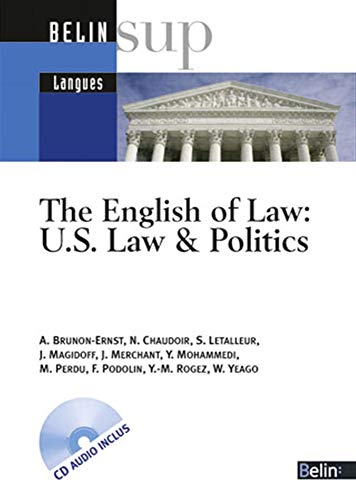 The English of Law: US Law & Politics (1CD audio)