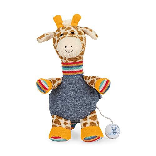 Sterntaler 6011951 Baby Spieluhr M Kuschelzoo Giraffe Greta - aus über 100 Melodien ein Spielwerk wählen (* Melodie LaLeLu)