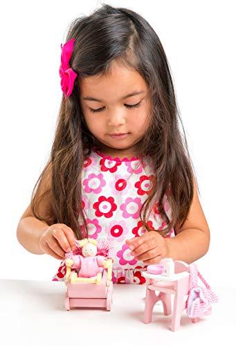 Le Toy Van Dollhouse Furniture & Accessories, Nursery Set
