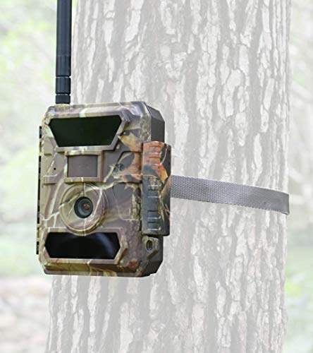 3G Bigfoot Trail Camera - Affordable Data Plan and Easy Setup - Cellular Game Camera- 5, 8, 12mp/1080P Wireless Wildlife Camera-Security Camera- Send Pictures Most Cellphones and Email Addresses