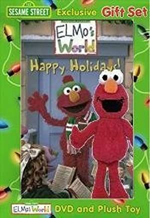 Amazon Com Sesame Street Gift Set Elmo S World Happy