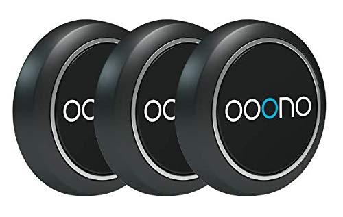 ooono Verkehrsalarm 3 Pack: Warnt vor Blitzern und Gefahren im Straßenverkehr in Echtzeit, automatisch aktiv nach Verbindung zum Smartphone über Bluetooth, Daten von Blitzer.de
