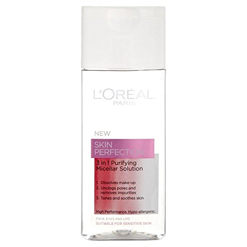 L'Oréal Paris Perfection de la peau 3in1 Purifiant Solution Micellaire (150ml) - Paquet de 6