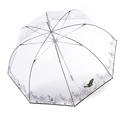 Knirps C.760 Regenschirm Stockschirm Stick transparent durchsichtig Neptun