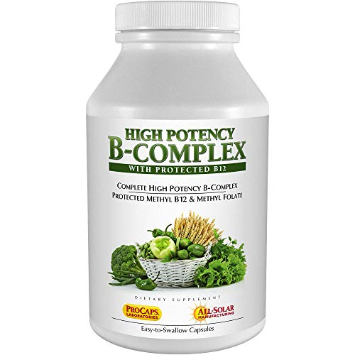 Andrew Lessman High Potency B-Complex 360 Capsules - with High Levels of Folate Complex & Biotin, Promotes Cellular Growth, Energy, Immune Function, Detoxification, Fat Metabolism & More