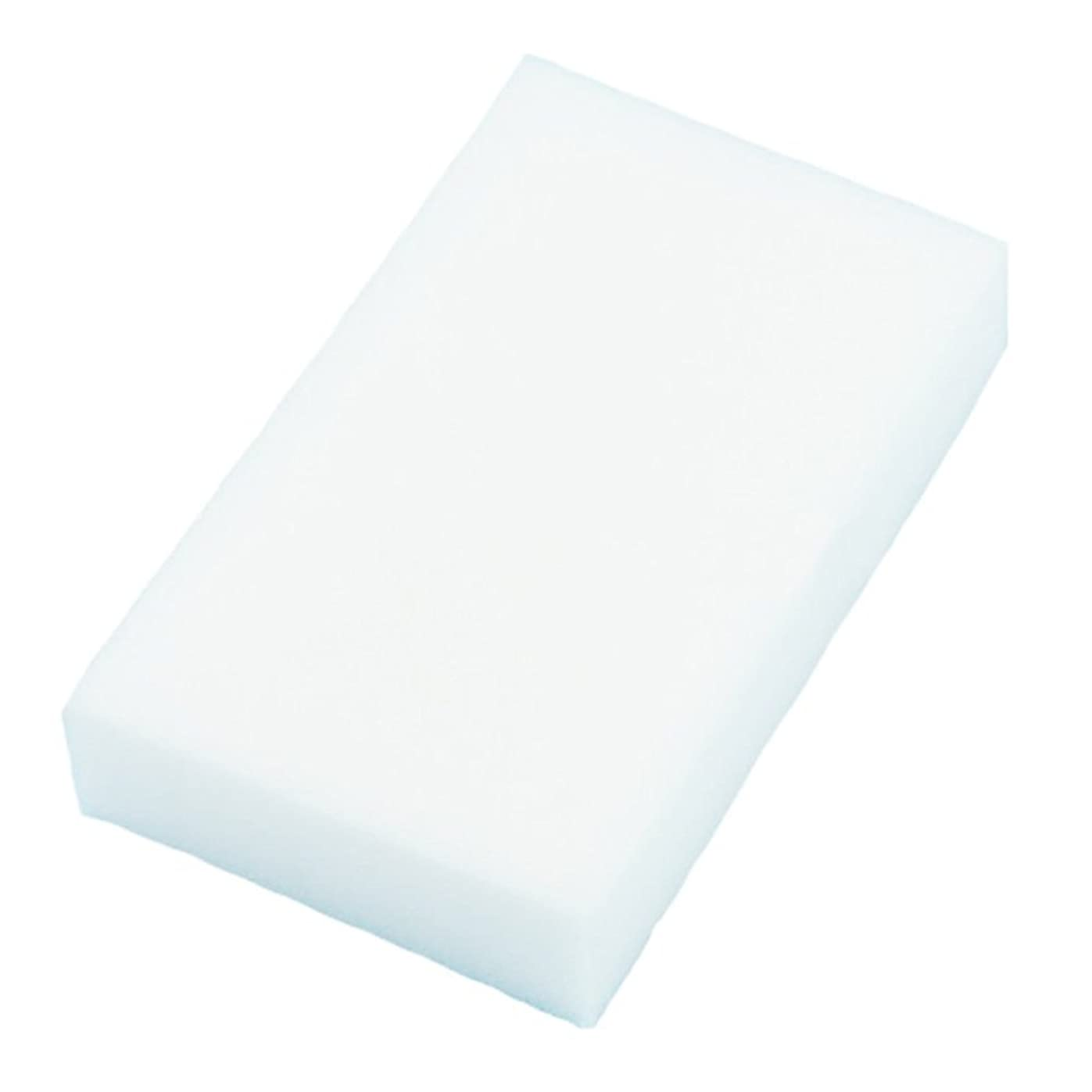 アシュリータファーマンセイはさておき溢れんばかりのACAMPTAR 20xマジックマルチスポンジ クリーンフォームクリーナー クレンジング消しゴム 洗車キッチン 10cmX6cmX2cm(白)