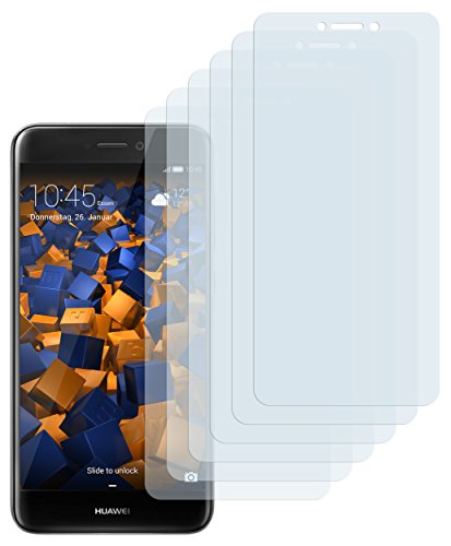 mumbi Schutzfolie kompatibel mit Huawei Honor 8 Lite Folie klar, Bildschirmschutzfolie (6X)