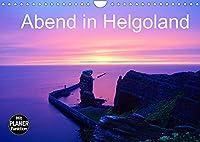 Abend in Helgoland (Wandkalender 2022 DIN A4 quer): Sonnenuntergang und Abendstimmung auf der Hochseeinsel Helgoland in der Nordsee (Geburtstagskalender, 14 Seiten )