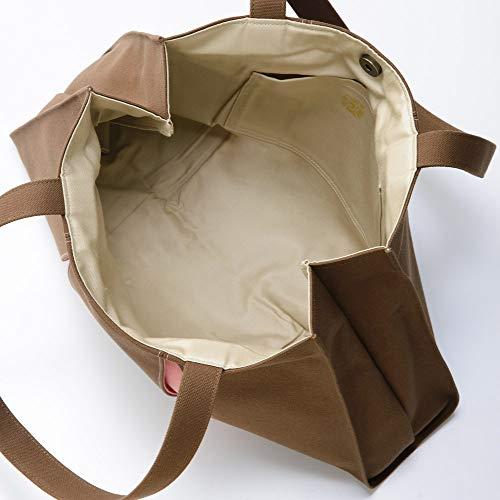 Kosho Kosho Takashimaya Original Tote Bag NH Brown x Sermon Pink