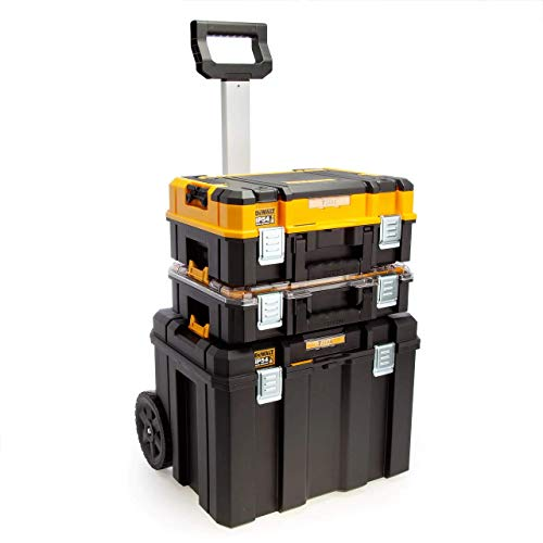 DeWalt DWST83411-1 Tstak Tower I Kit porta herramientas, negro/amarillo