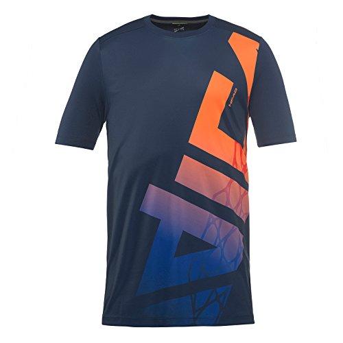 HEAD Jungen Vision Radical T-Shirt, Navy, Größe S