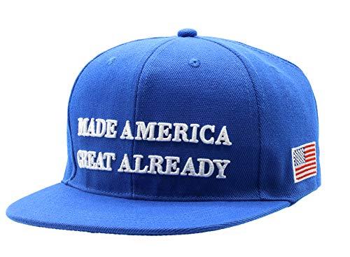 Made America Great Already Joe Biden, Pro-America, Anti-Trump, BLM, BlueWave2020, Love Over Hate, Baseball Cap, Blue, Hat