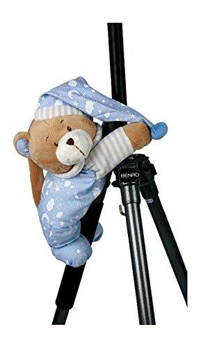 """Spieluhr""""Nils"""" zum Kuscheln und Einschlafen, der musikalische Teddy ist besonders weich und flauschig, als Einschlafhilfe oder Spielzeug, zum Aufhängen am Bettchen oder Kinderwagen - 3"""