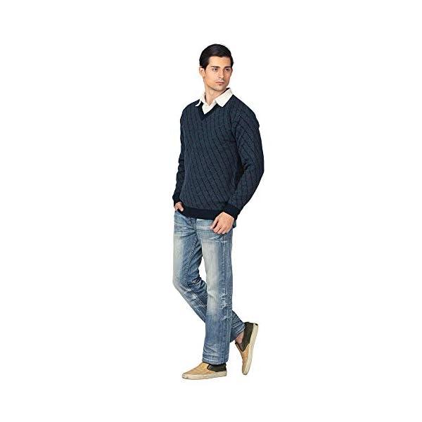 aarbee Men's Blended V Neck Sweater 4 41M8Es7dnEL. SL500