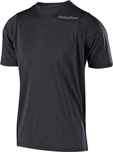 Troy Lee Designs Skyline Short-Sleeve Jersey - Men's Heather Black, S