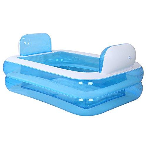 TIDLT Enfant Gonflable Famille Piscine Nourrissons et Les Jeunes Enfants Piscine Gonflable Air baignoires
