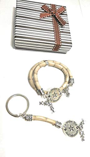 Detalles Party baby Pack Regalo Tia Llavero Pulsera