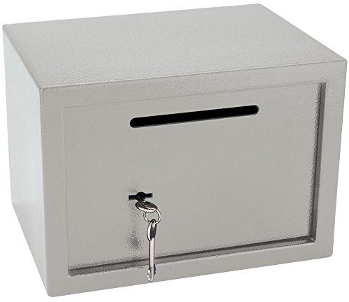 Draper 38220 Post Tarjetero con Caja de Seguridad para Llave