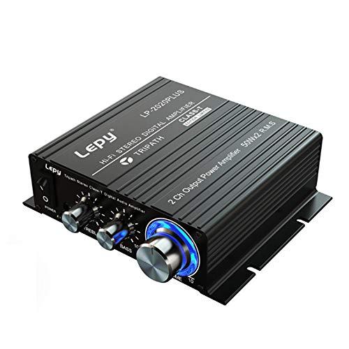 docooler Lepy HiFi Stereo Classe T Amplificatore Audio Digitale Amplificatore di Potenza Mini Home Stereo Audio Amp 50W * 2 LP-2020PLUS