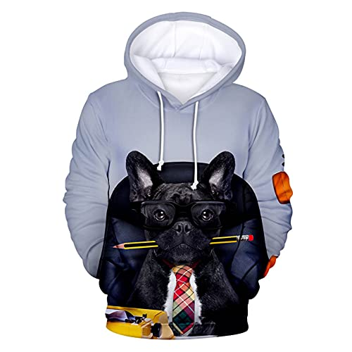 NUTM.K 3D Hoodies Fashion French Bulldog Men/Women Harajuku Sweatshirt Casual Pullover Hoodies