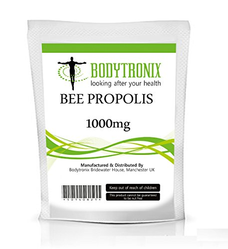 BEE PROPOLIS 1000mg 60 capsules NATURAL ANTIBIOTIC, FIGHT INFECTION
