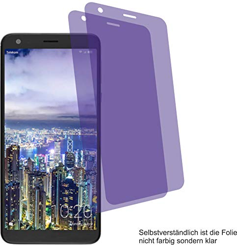 4ProTec I 2X Crystal Clear klar Schutzfolie für Sharp Aquos B10 Bildschirmschutzfolie Displayschutzfolie Schutzhülle Bildschirmschutz Bildschirmfolie Folie