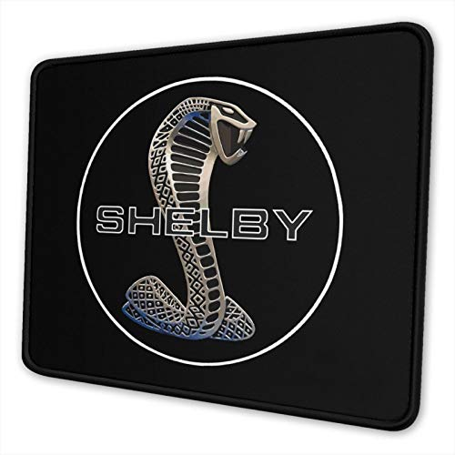 JUNIY Must-ANG SVT Co-Bra She-Lby Mouse Pad Non-Slip Rubber Base Gaming Mousepad for Laptop Computer Pc