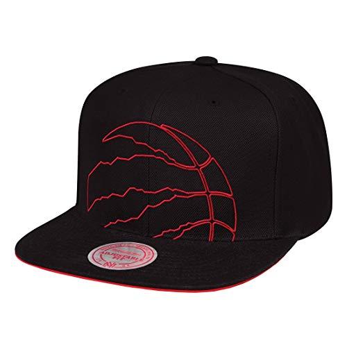 Mitchell & Ness Gorra XL Cropped Toronto Raptors Logo Black