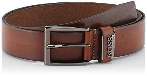 BOSS Herren Senol Gürtel, Braun (Medium Brown 210), 95