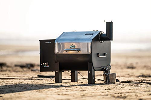 Green Mountain Trek Wi-Fi Controlled Portable Wood Pellet Tailgating Grill