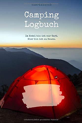 Camping Logbuch: Reisetagebuch | Campingtagebuch für den Zelt, Camper, Caravan, Reisemobil, Wohnwagen, Wohnmobil Urlaub, Bikepacking | Reisejournal | Notizbuch