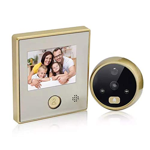 FYAS 3 Pulgadas TFT LCD HD Video Timbre Puerta Eléctrica Eye IR...
