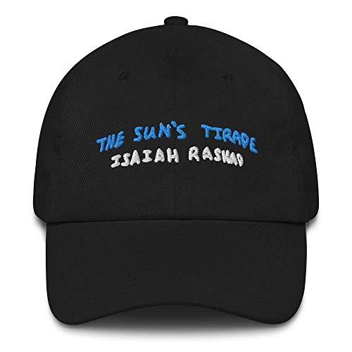 The Sun Tirade Isaiah Rashad Embroidery DAD Hat Vintage Art Baseball Cap,Black