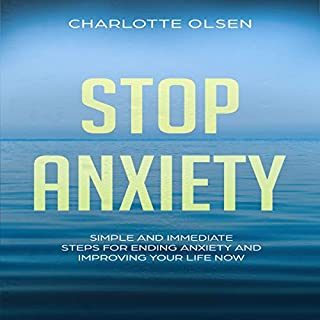 Stop Anxiety audiobook cover art