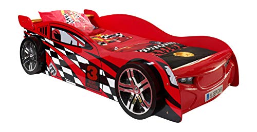 Vipack Night Speeder CARBED Rouge, MDF