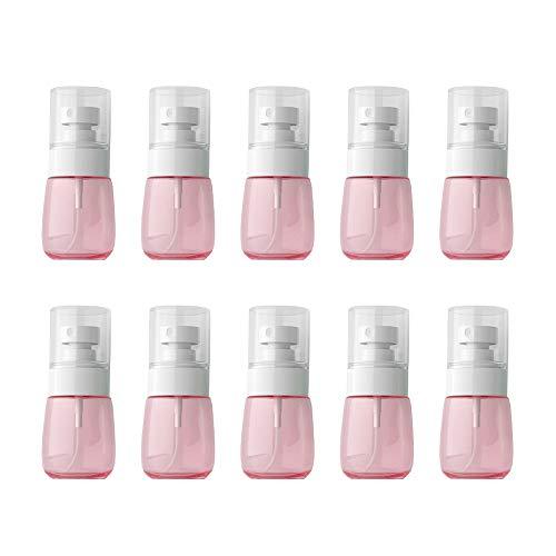 VOANZO 10 PCS 30 ml Vaporisateur UPG Cosmétiques Bouteille Crème Solaire Mini Huile Essentielle Parfumerie Distributeur Vaporisateur Transparent (rose)