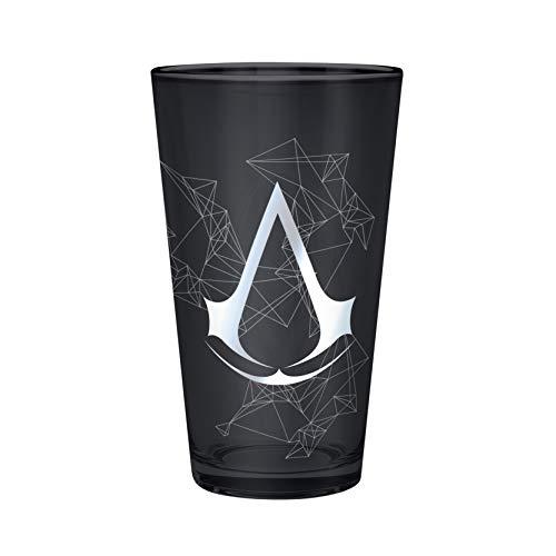 ABYstyle - ASSASSIN'S CREED - Glass XXL - 500 ml - Assassin - Metallfolie